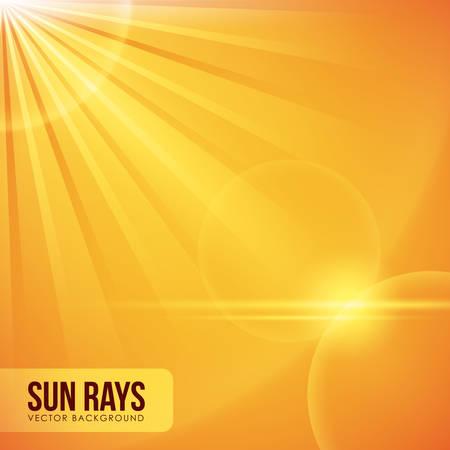 Sun rays design, vector illustration eps 10. Banco de Imagens - 43548120