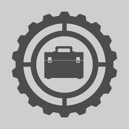 industrial safety: Tools digital design, vector illustration 10 eps graphic