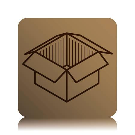 delivery box: Delivery box design, vector illustration eps 10.