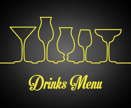 carbonated: Drinks digital design, vector illustration eps 10.