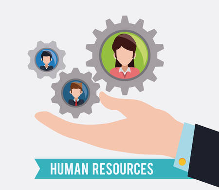 resource: Human resources design, vector illustration eps 10.