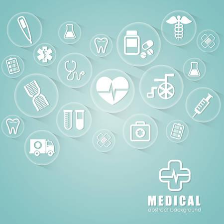 community service: Medical digital design, vector illustration eps 10.