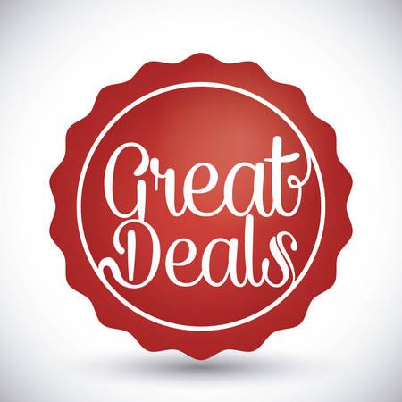 10 best: Best deal design, vector illustration eps 10. Illustration