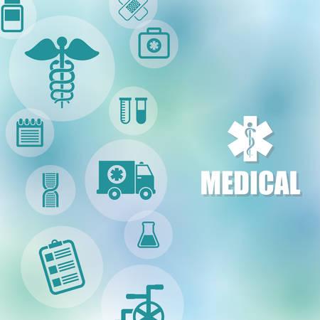 medics: Medical digital design, vector illustration eps 10.