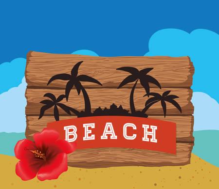 summertime: Summertime digital design, vector illustration 10 eps graphic