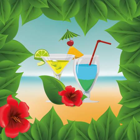 summertime: Summertime digital design, vector illustration  graphic