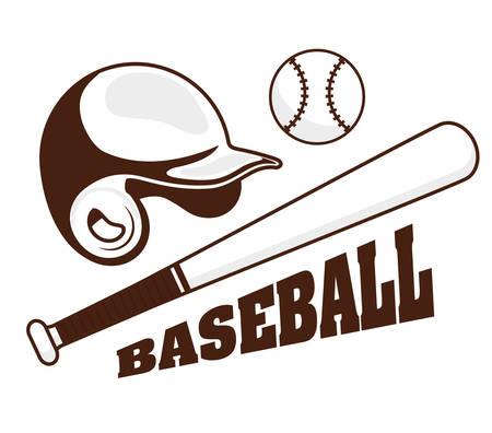 Baseball Sport Design, Vector illustration eps 10.