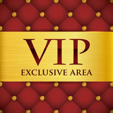 ad board: VIP card design, vector illustration eps 10. Illustration