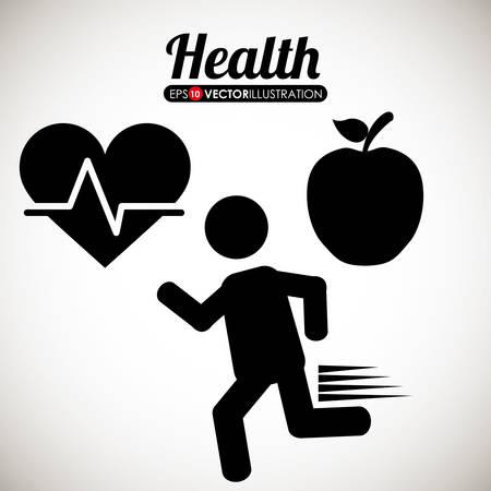 egészségügyi ellátás: Egészségügyi ellátás digitális tervezés, a vektoros illusztráció 10 EPS Illusztráció