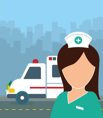 egészségügyi ellátás: Health care digital design, vector illustration 10 eps graphic