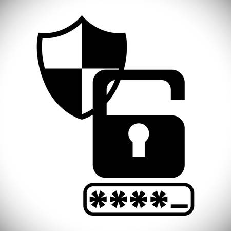warning system: Securty system concept, warning icons design, vector illustration