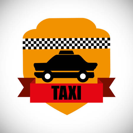 taxi: Taxi concept with service icon design, vector illustration 10 eps graphic.