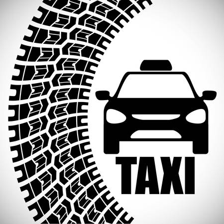 city traffic: Taxi concept with service icon design, vector illustration 10 eps graphic.