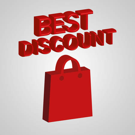 technology transaction: Big sales and special offers shopping design, vector illustration Illustration