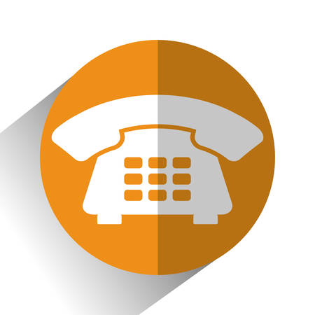 advertise with us: Communication icons, telephone and devices design, vector illustration Illustration