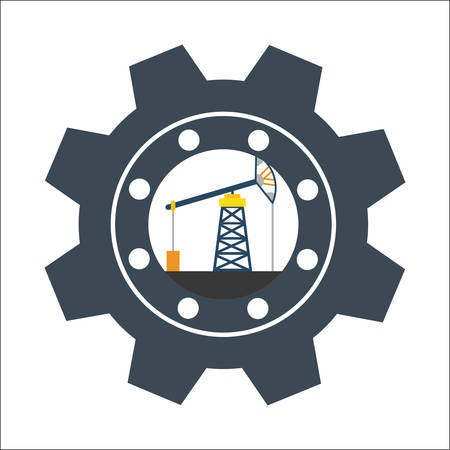 refinery engineer: Factory,industry and business design, vector illustration eps 10. Illustration