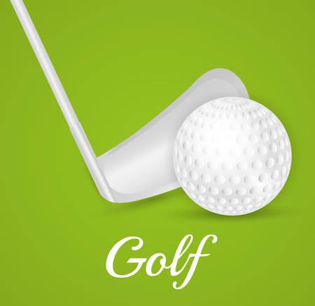 ilustration: Golf sport design, vector ilustration eps 10.