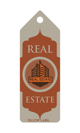 real estate concept: Real Estate concept and residential icons design, vector illustration