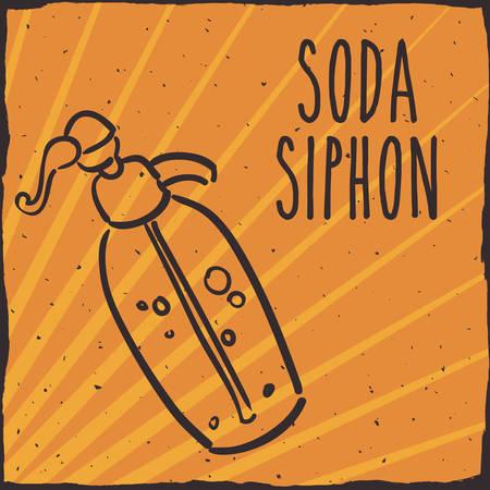 carbonated: Drink concept about soda design, vector illustration 10 eps graphic. Illustration