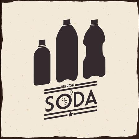 carbonation: Drink concept about soda design, vector illustration 10 eps graphic. Illustration