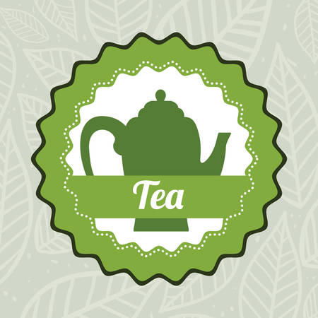 tea time: Tea time concept with tea kettle design, vector illustration 10 eps graphic. Illustration