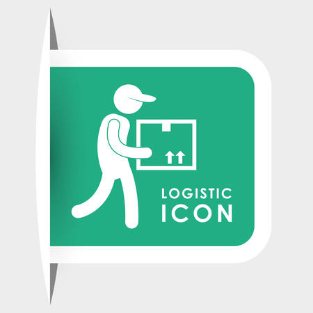 article marketing: Logistics and delivery icons, vector illustration graphic .