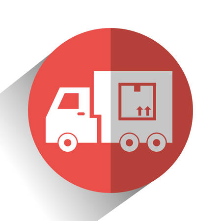 logistics: Logistics and delivery icons, vector illustration graphic .