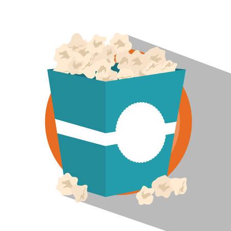 pop corn: Fast food concept with pop corn design, vector illustration 10 eps graphic