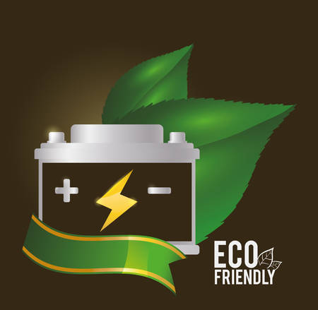go green concept: Go green concept with eco icons design, vector illustration 10 eps graphic Illustration
