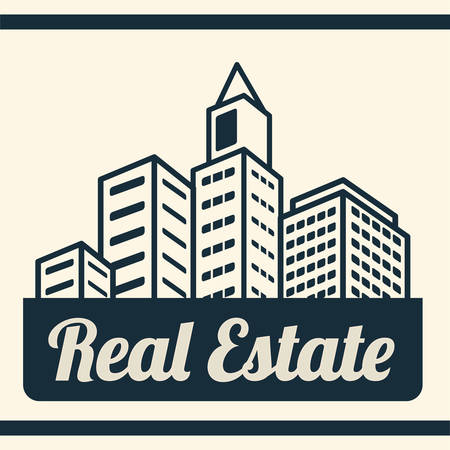buy sell: Real Estate concept with building design