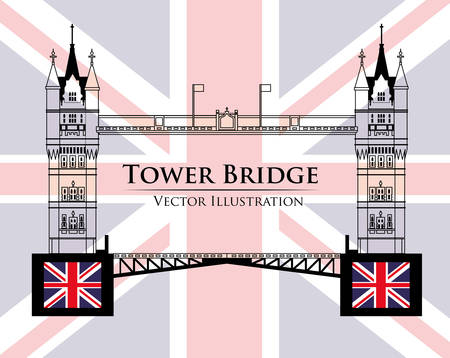 thames: London concept with icons design