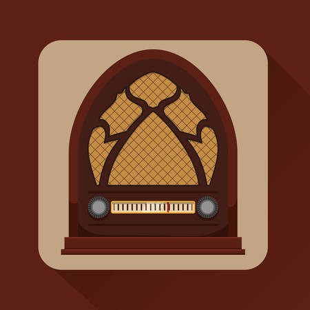 listening: music concept about sound  icons design, vector illustration graphic.