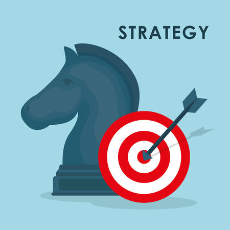 accuracy: Business strategies and solutions graphic design, vector illustrarion