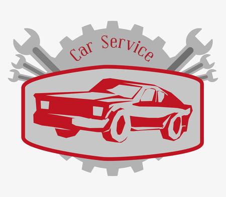 transporter: Transportation concept with car service design, vector illustration 10 eps graphic.