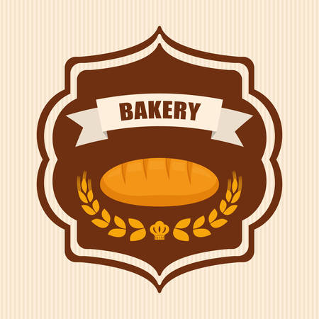advert: Bakery shop advert graphic design, vectori llustration