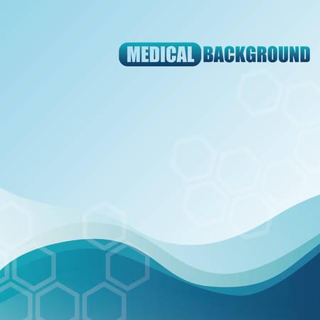 bluelines: Medical healthcare graphic design, vector illustration eps10 Illustration
