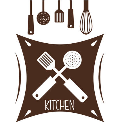 home cooking: kitchen concept with house appliances icons design, vector illustration 10 eps graphic.