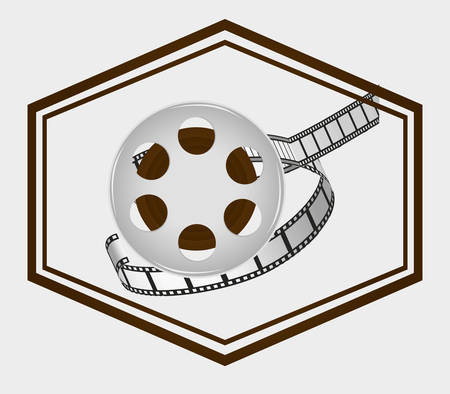 cinema viewing: Cinema  concept  with movie icons design, vector illustration 10 eps graphic.