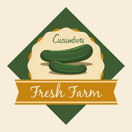 cultivating: Farm concept  with harvest icons design, vector illustration 10 eps graphic. Illustration