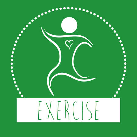 Fitness-Center-Konzept mit Fitnessraum icons Design Vektorgrafik