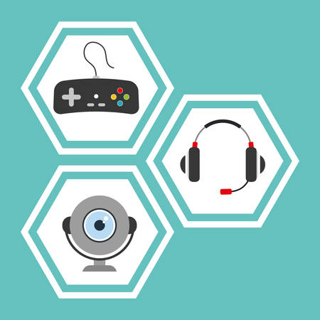multimedia: Technology concept with multimedia icon design