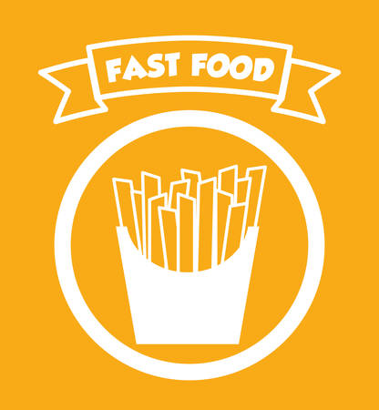 traditional food: Delicious fast food graphic design, vector illustration eps10