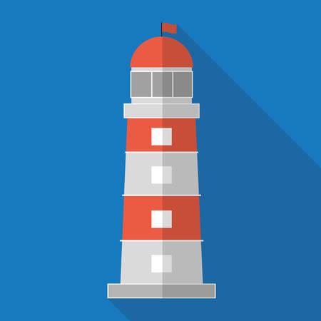 nautical equipment: Sea and nautical equipment graphic design, vector illustration