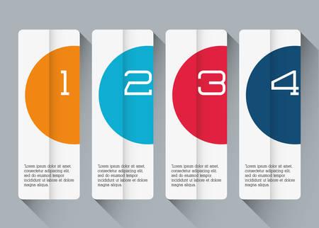 infochart: Business infographic design, vector illustration graphic eps10