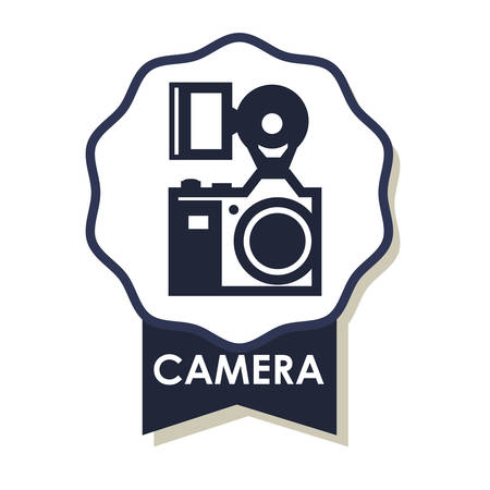 capturing: Camera  concept with icons design