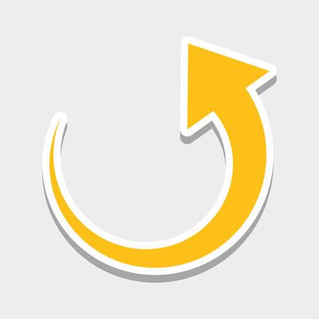 Las flechas de los iconos de diseño gráfico, ilustración vectorial eps10