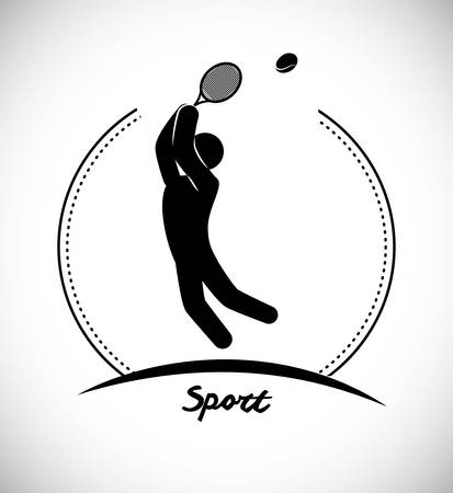 active life: Sport games icon graphic design, vector illustration eps10
