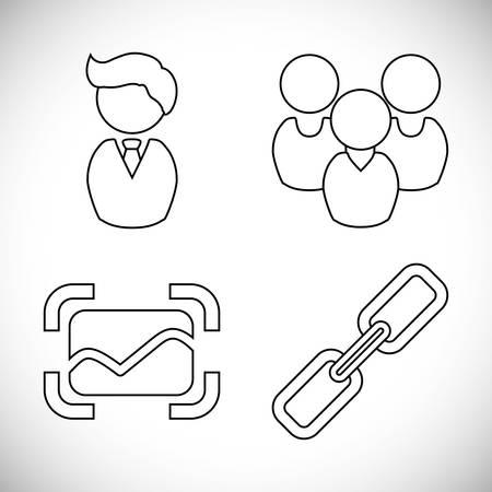 socializando: Social media and technology graphic design, vector illustration eps10