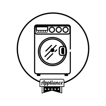 home appliance: Home appliance icon graphic design, vector illustration eps10