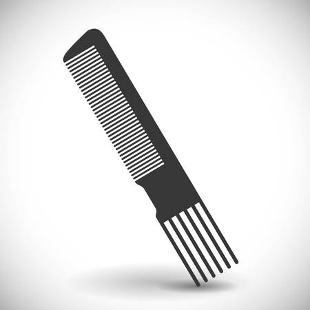 cut short: Hairdresser salon icon graphic design, vector illustration eps10